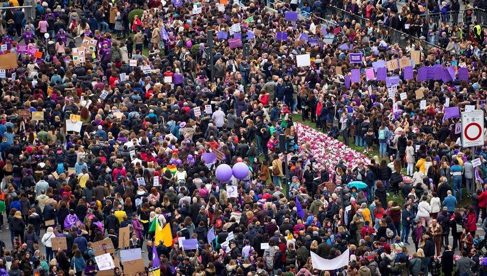 Manifestacion masiva 8M 2020