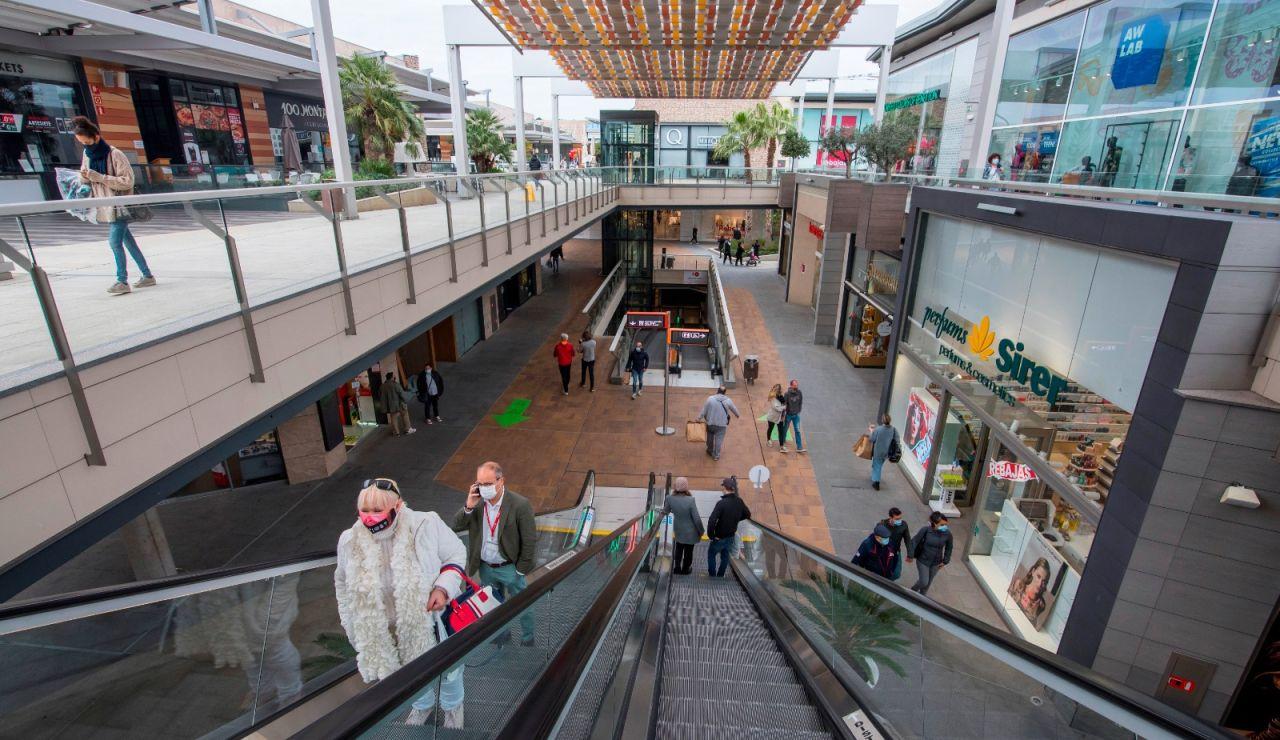 Centro comercial Cataluña