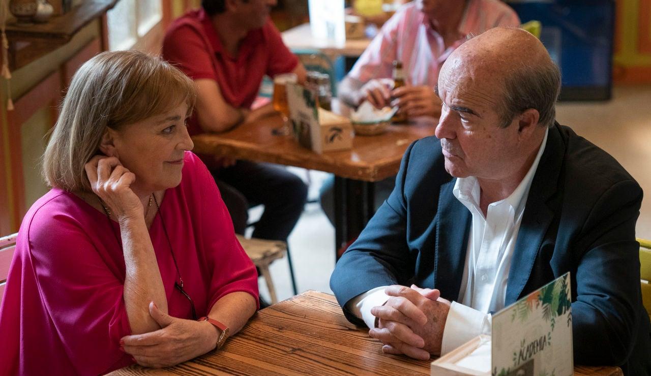Pepa se reúne con Antonio Resines, su antiguo amor