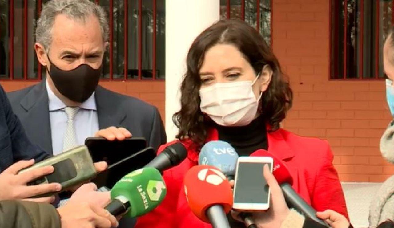 Isabel Díaz Ayuso, presidenta Comunidad de Madrid