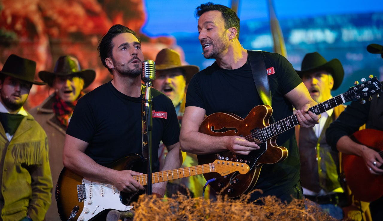 Pablo Puyol y David Bustamante recrean la banda sonora de un Western