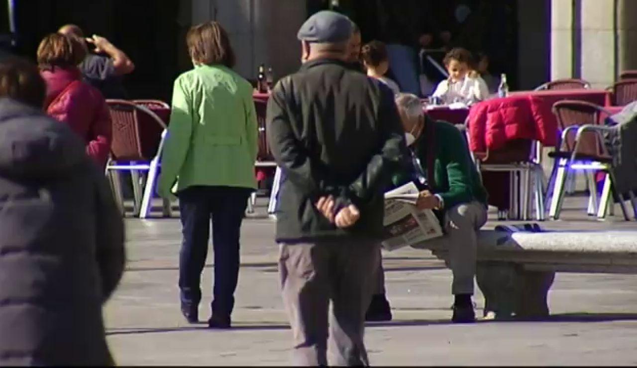 El gasto de pensiones aumenta un 2,3% en febrero y alcanza el récord de 10.100 millones de euros