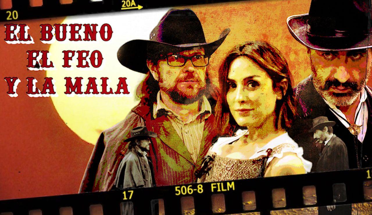 Tamara Falcó, Juan del Val y Santiago Segura, actores del Oeste en 'El Desafío'