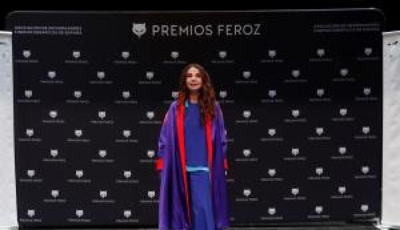 La actriz Victoria Abril, en premios Feroz 2021