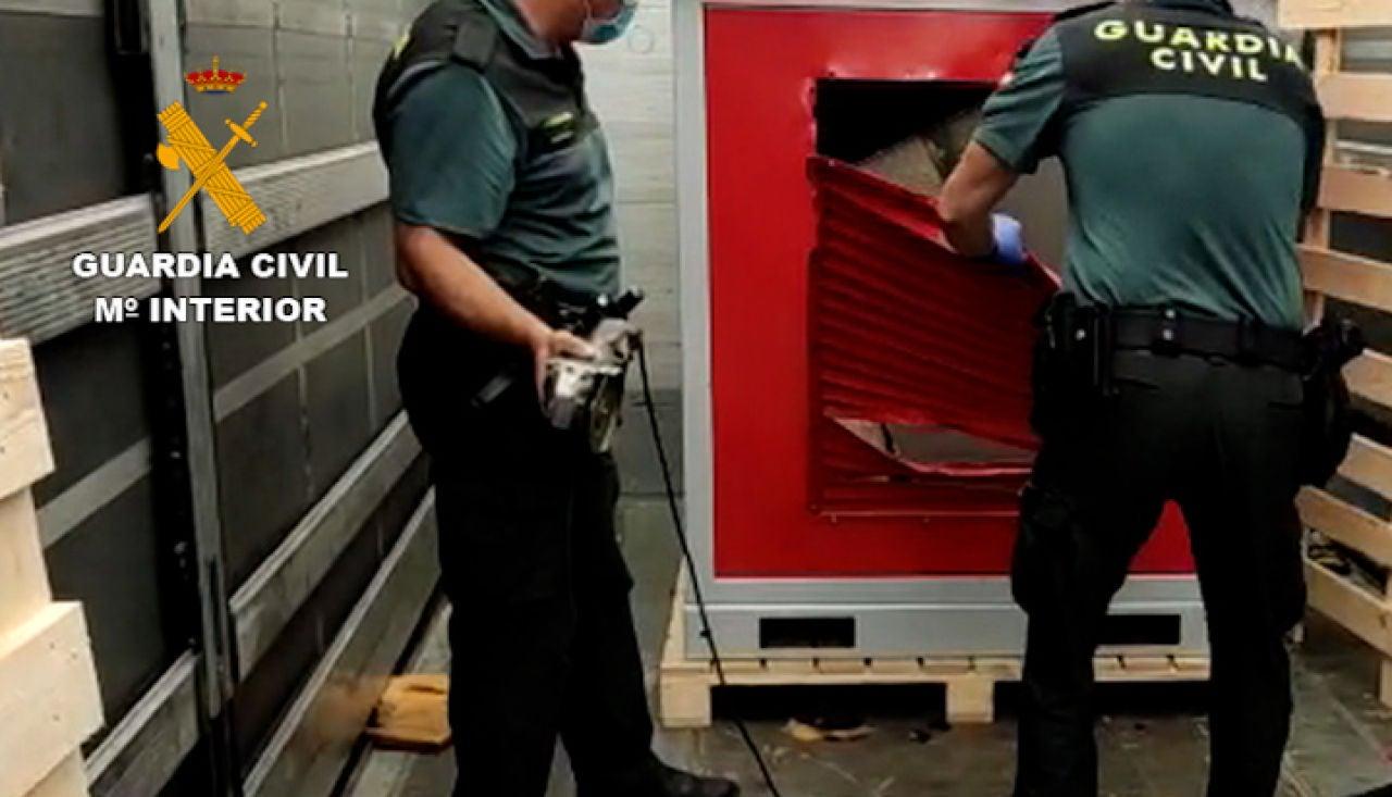 La Guardia Civil en las operaciones para desmantelar dos organizaciones europeas en Málaga