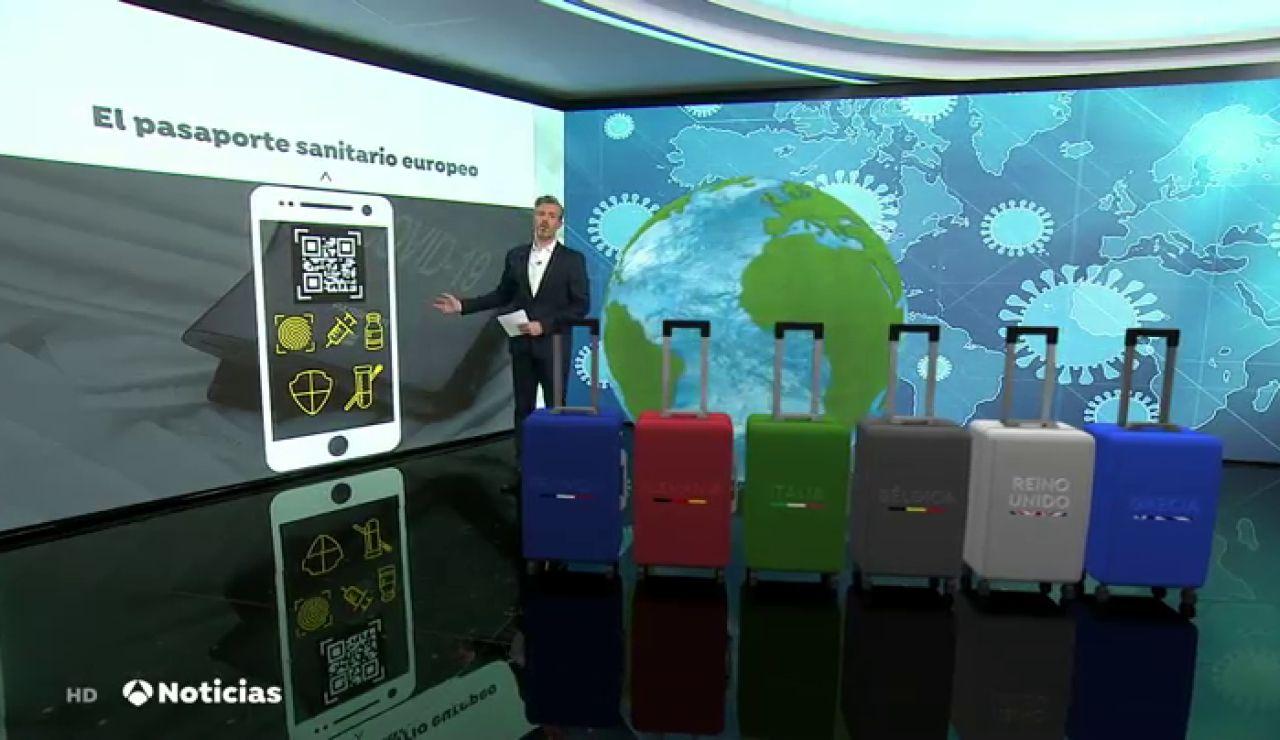 La Unión Europea quiere poner en funcionamiento un pasaporte sanitario europeo en junio