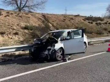 Muere un hombre de 32 años tras quedarse sin gasolina y ser embestido por otro turismo en Madrid