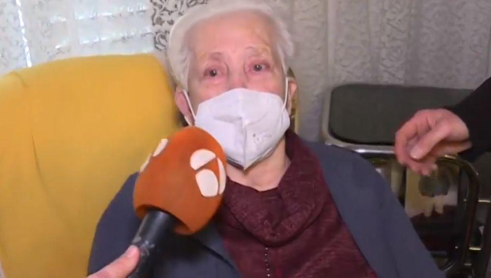 Una anciana de 97 años es deshauciada por error