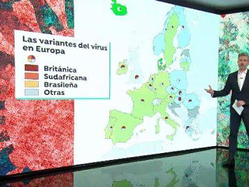 Expertos alertan que las mutaciones del coronavirus podrían provocar una cuarta ola si se levantan las restricciones