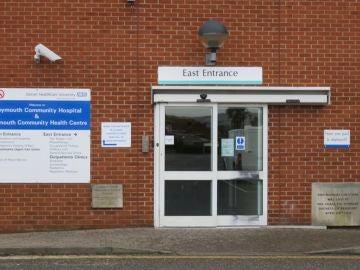 Hospital de Weymouth donde acudió el joven con sepsis