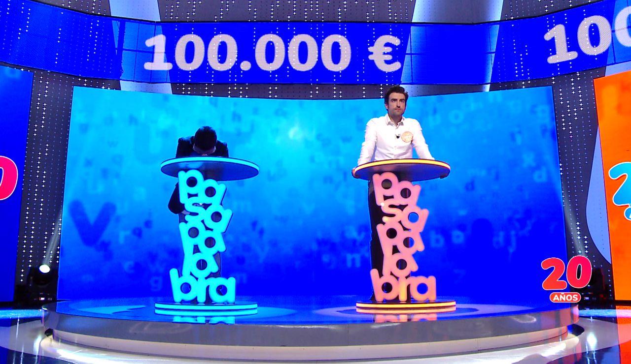 ¡Máxima tensión en un duelo histórico! Orestes y Rafa se juegan 100.000 euros y el derecho de volver como concursantes a 'Pasapalabra'
