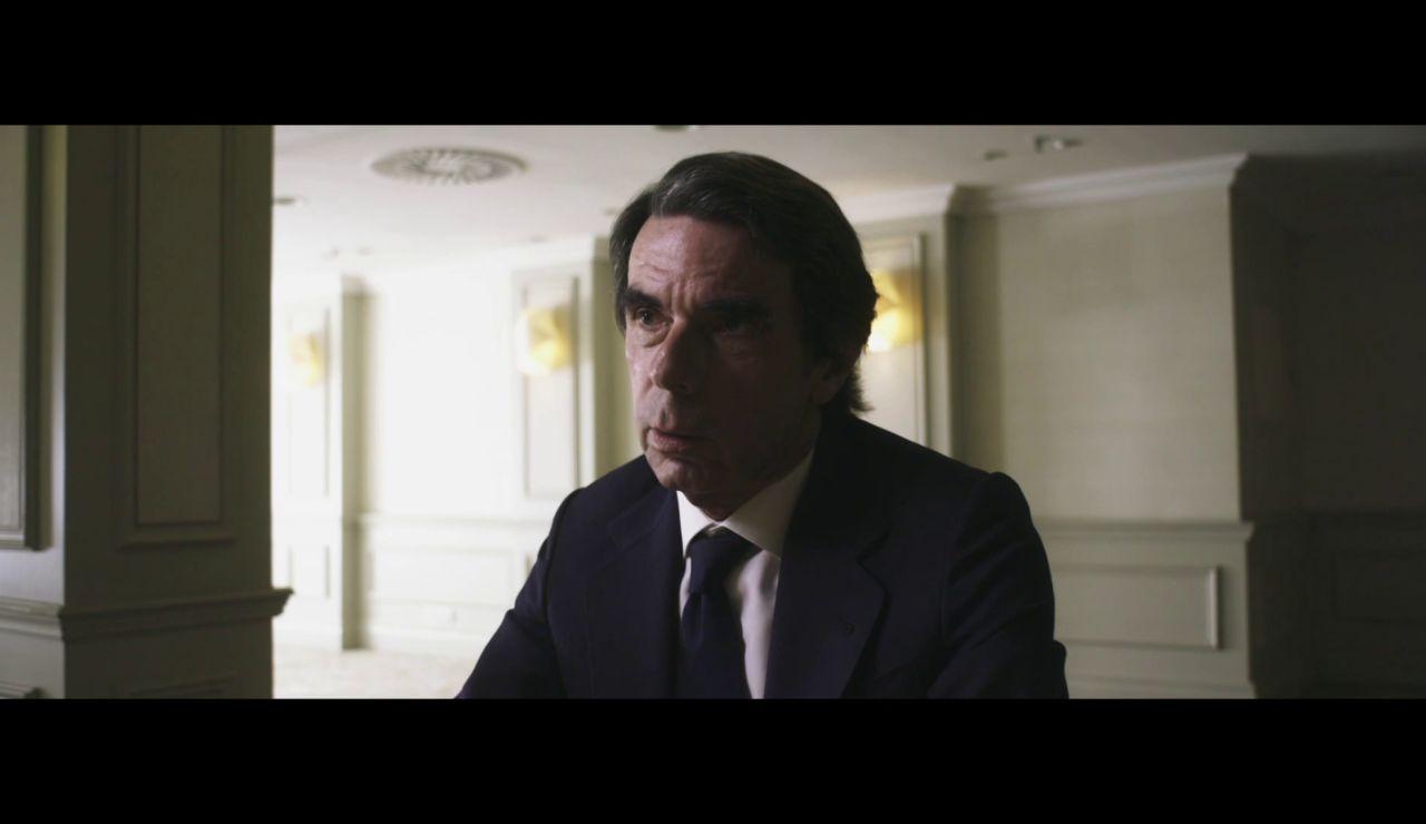"""Aznar, a Jordi Évole sobre el rey emérito Juan Carlos I: """"La ley está hecha para cumplirla"""""""