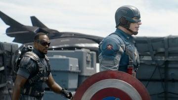 Capitán América y Falcón