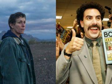 'Nomadland' y 'Borat, película film secuela'