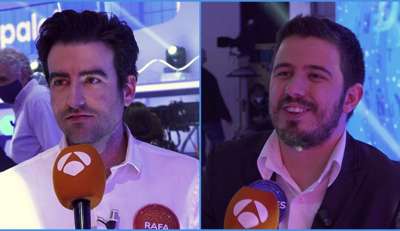 """Un sueño cumplido para Rafa y Orestes al volver a 'Pasapalabra': """"Continuamos con nuestra cuenta pendiente y se hizo justicia"""""""