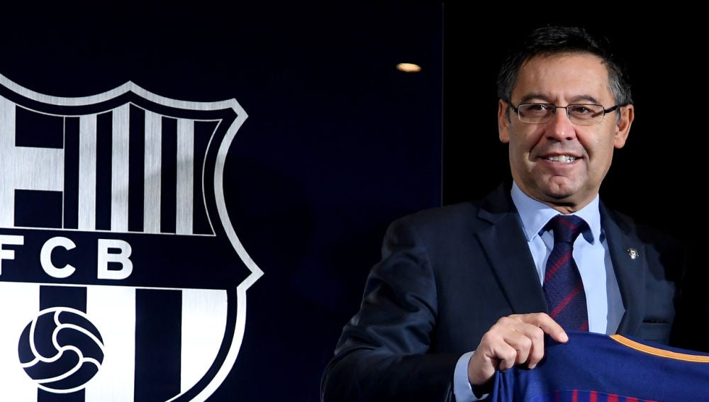 Josep María Bartomeu, detenido junto a otras tres personas del FC Barcelona, en el marco de la investigación del 'Barçagate'