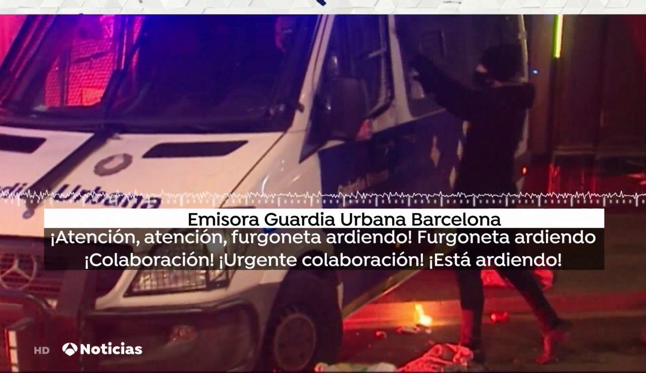 La angustiosa llamada de los policías de la Guardia Urbana atacados en Barcelona