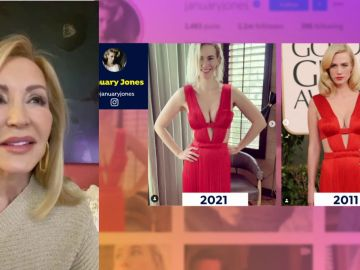 Carmen Lomana analiza los estilismos de los Premios Globos de Oro