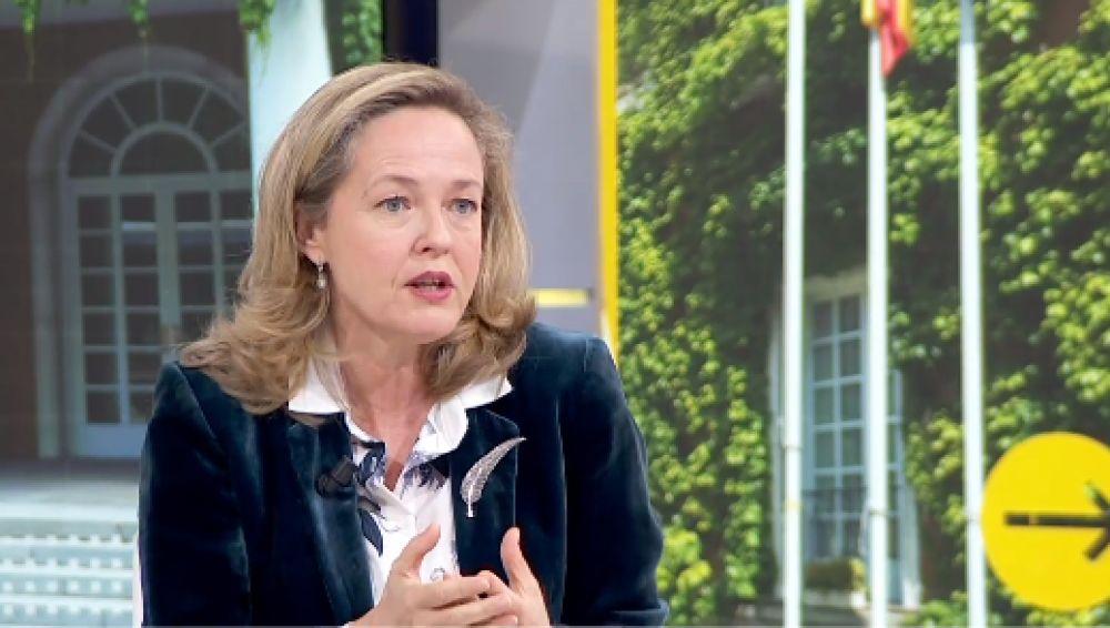 """Nadia Calviño rechaza regular el precio de los alquileres y Podemos pide cumplir lo pactado para """"cuidar"""" el Gobierno"""