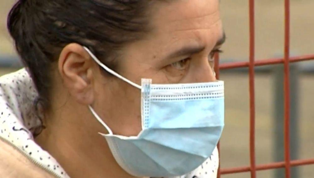 Mari Ángeles, superviviente del incendio en Nerva.