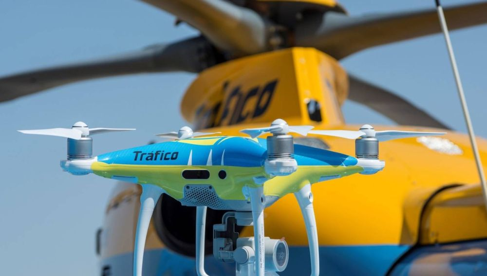 Dron de la DGT