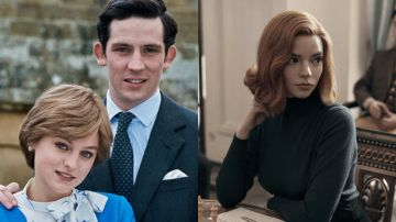 'The Crown' y 'Gambito de dama'