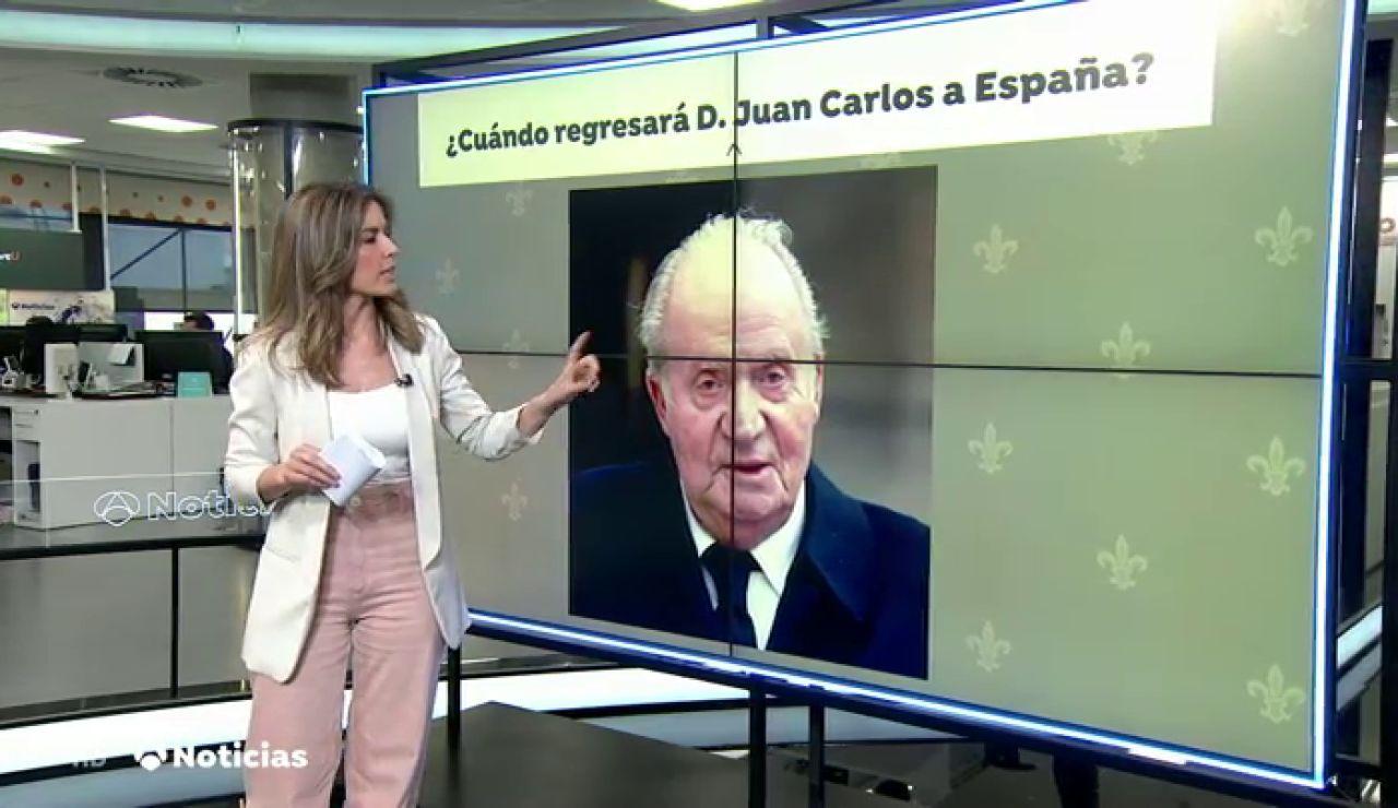 El rey Juan Carlos I consultó la posibilidad de divorciarse de la reina Sofía para casarse con Corinna Larsen