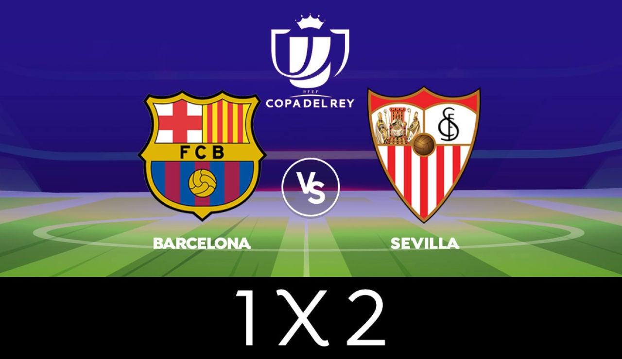 ¿Barcelona o Sevilla, quién se meterá en la final de Copa del Rey? Vota en nuestra encuesta