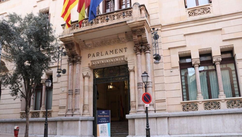 Fachada del Parlament de Baleares