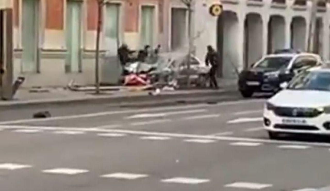 Persecución calle Serrano (Madrid)