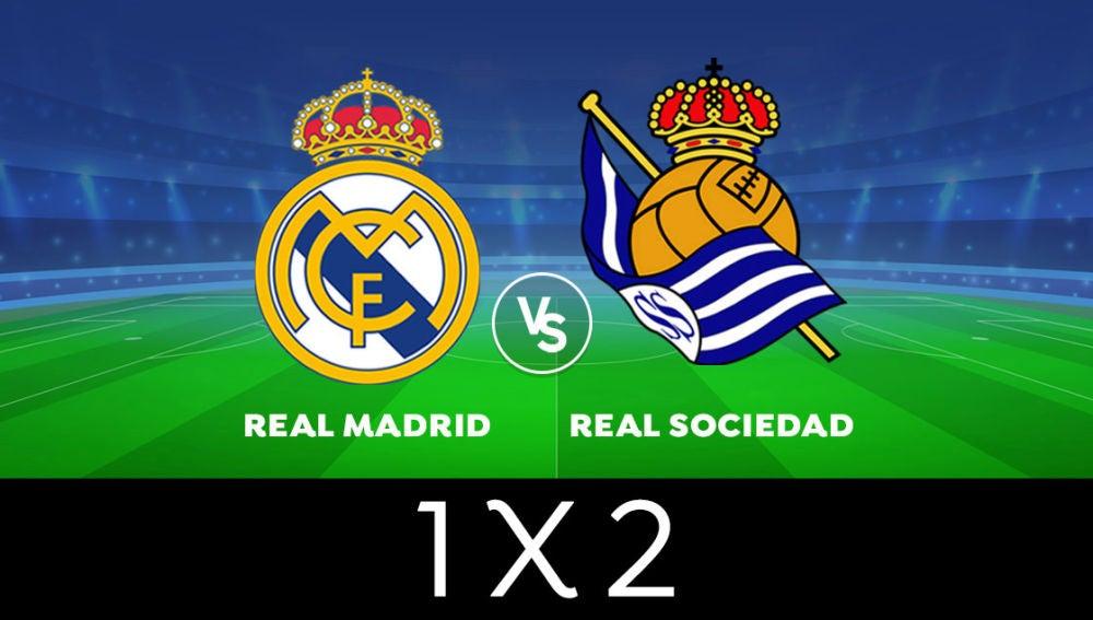 ENCUESTA ¿Quién ganará el Real Madrid - Real Sociedad de Liga Santander?