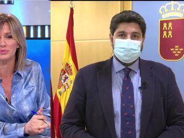 Fernando López Miras en Espejo Público