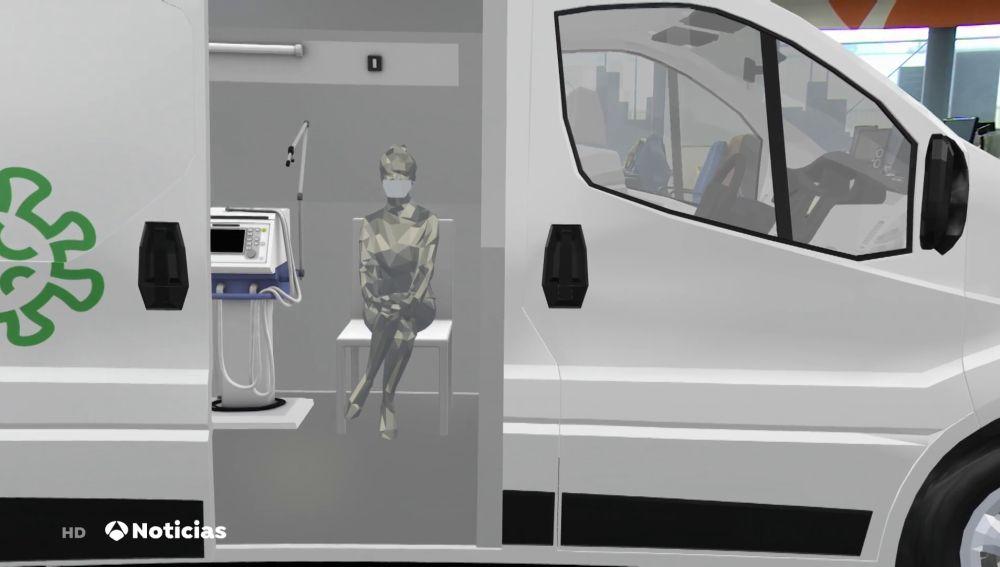 PCR móvil, la furgoneta que ofrece pruebas de coronavirus para grandes eventos