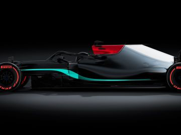 La presentación del Mercedes W12 de Fórmula 1, en directo