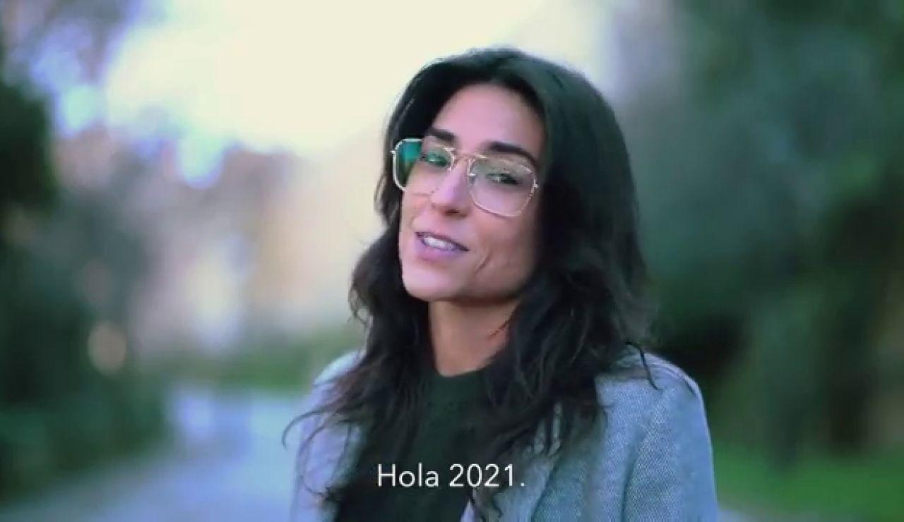 """Tatiana Ballesteros, la joven que saca los colores a los políticos: """"España necesita un capitán, pero no está entre vosotros"""""""