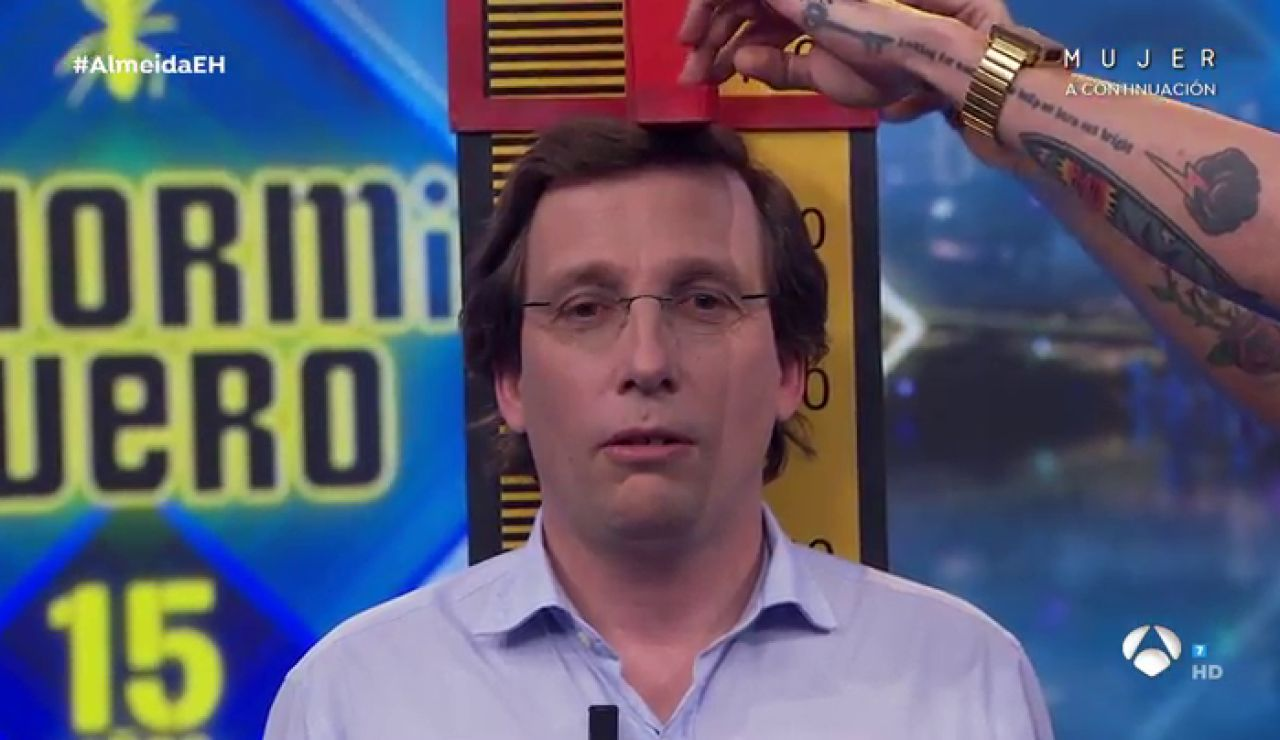 ¡Duelo de altura! La divertida competición entre José Luis Martínez-Almeida y Pablo Motos