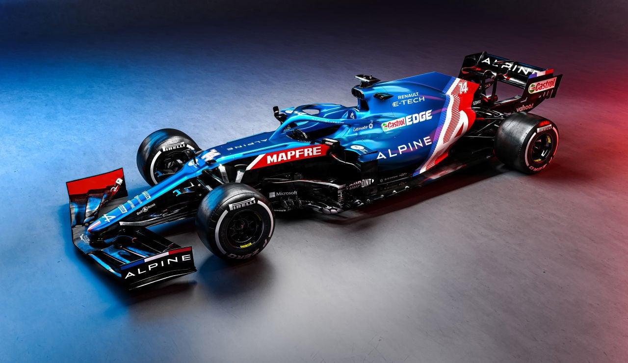 El nuevo Alpine A521 de Fernando Alonso