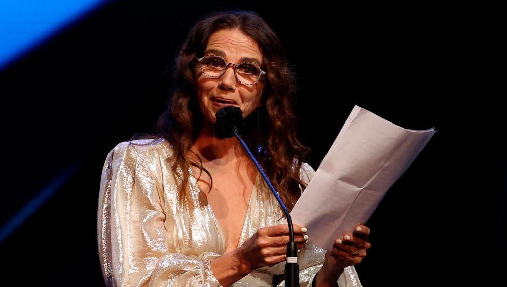 Victoria Abril, en la gala de los Premios Feroz 2021.
