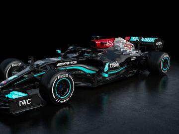 Así es el W12 de Mercedes para la temporada 2021 de Fórmula 1
