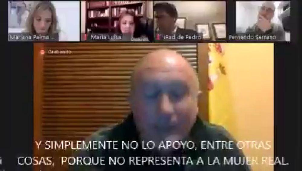 """El portavoz de VOX en Baza sobre el 8-M: """"No representa a la mujer real, hay mujeres que no son mujeres"""""""