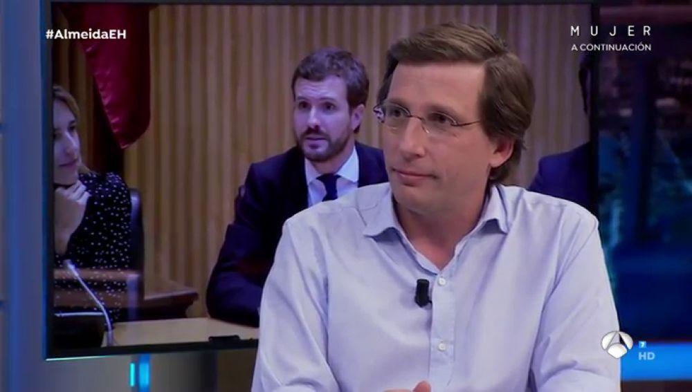 """José Luis Martínez-Almeida, en su visita en El Hormiguero: """"Lo importante no es la sede del PP sino la calle"""""""