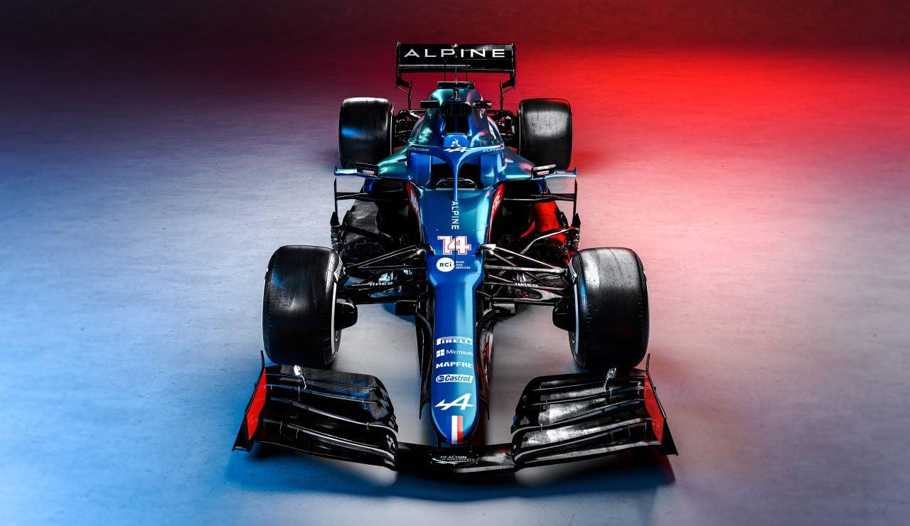 El nuevo monoplaza de Alpine que pilotará Fernando Alonso
