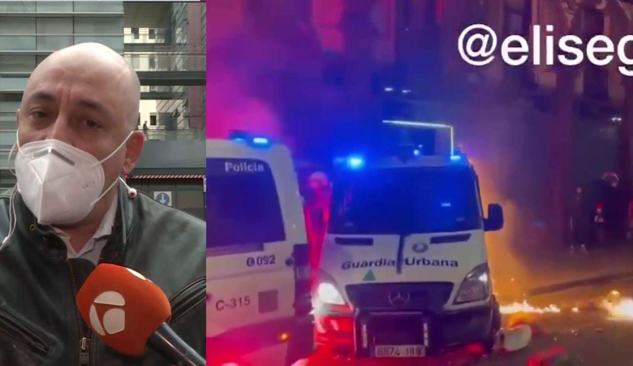 Policías de Cataluña.