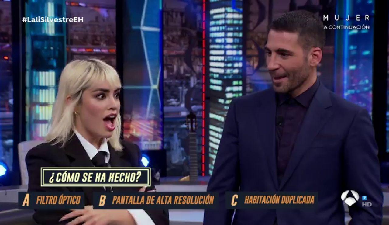 Miguel Ángel Silvestre y Lali Espósito cazan al vuelo el truco de magia de Luis Piedrahita
