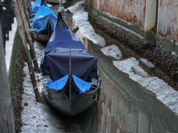Imagen de uno de los canales de Venecia