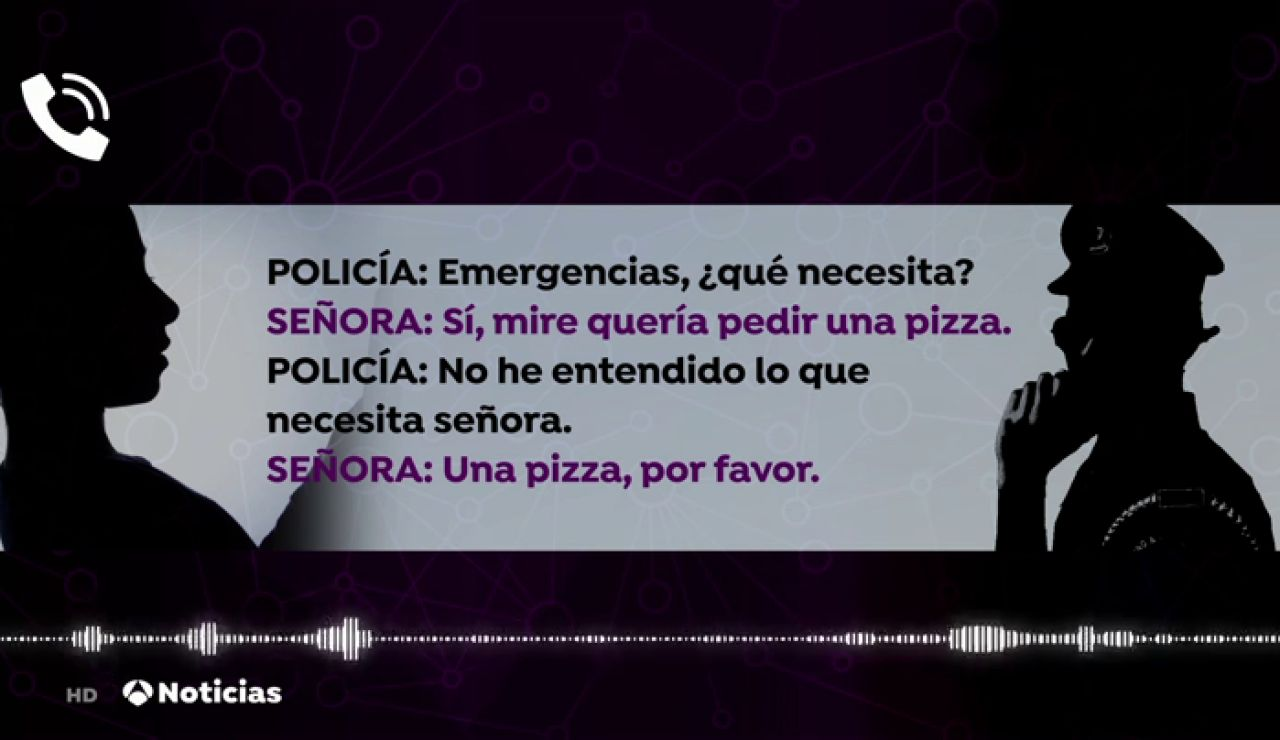 Una víctima de violencia machista en Italia llama a la policía simulando pedir una pizza para pedir ayuda