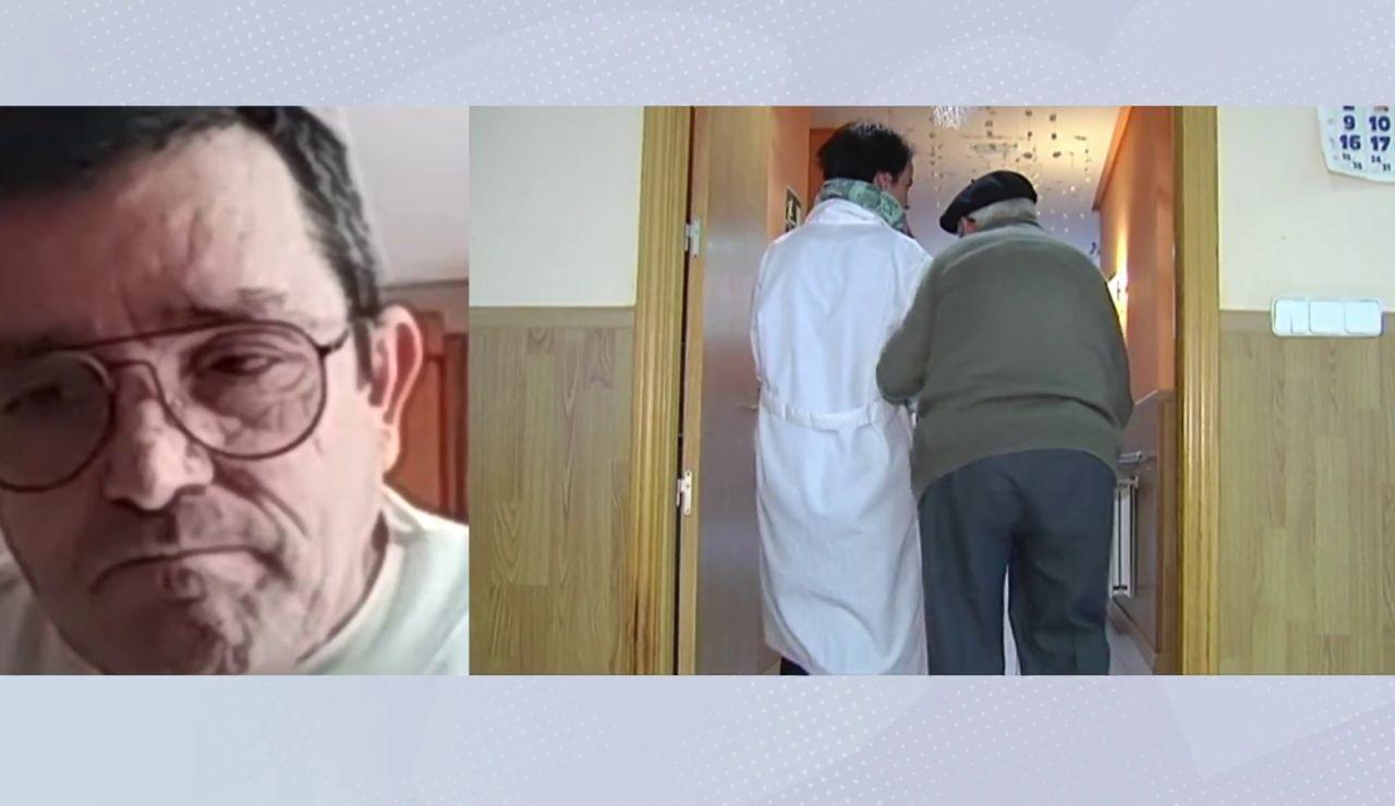 Javier García perdió a su padre por coronavirus en la residencia de Tomelloso