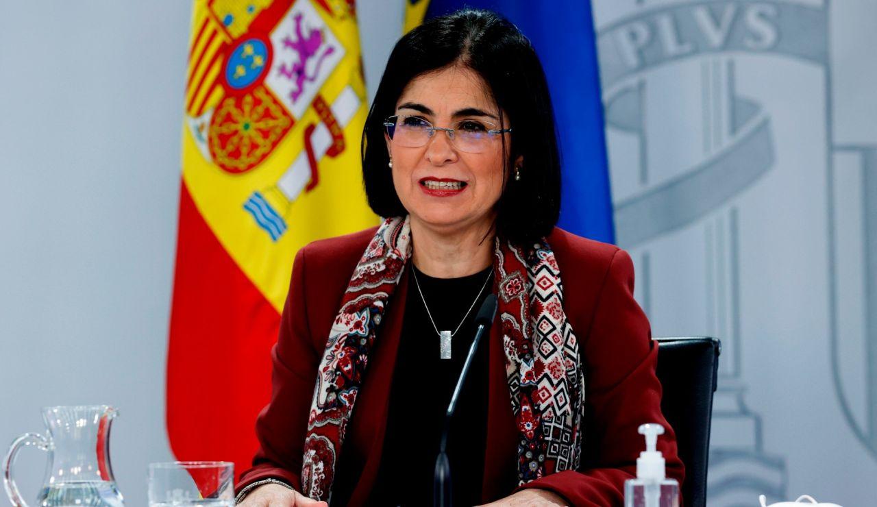 Carolina Darias, en rueda de prensa este miércoles.