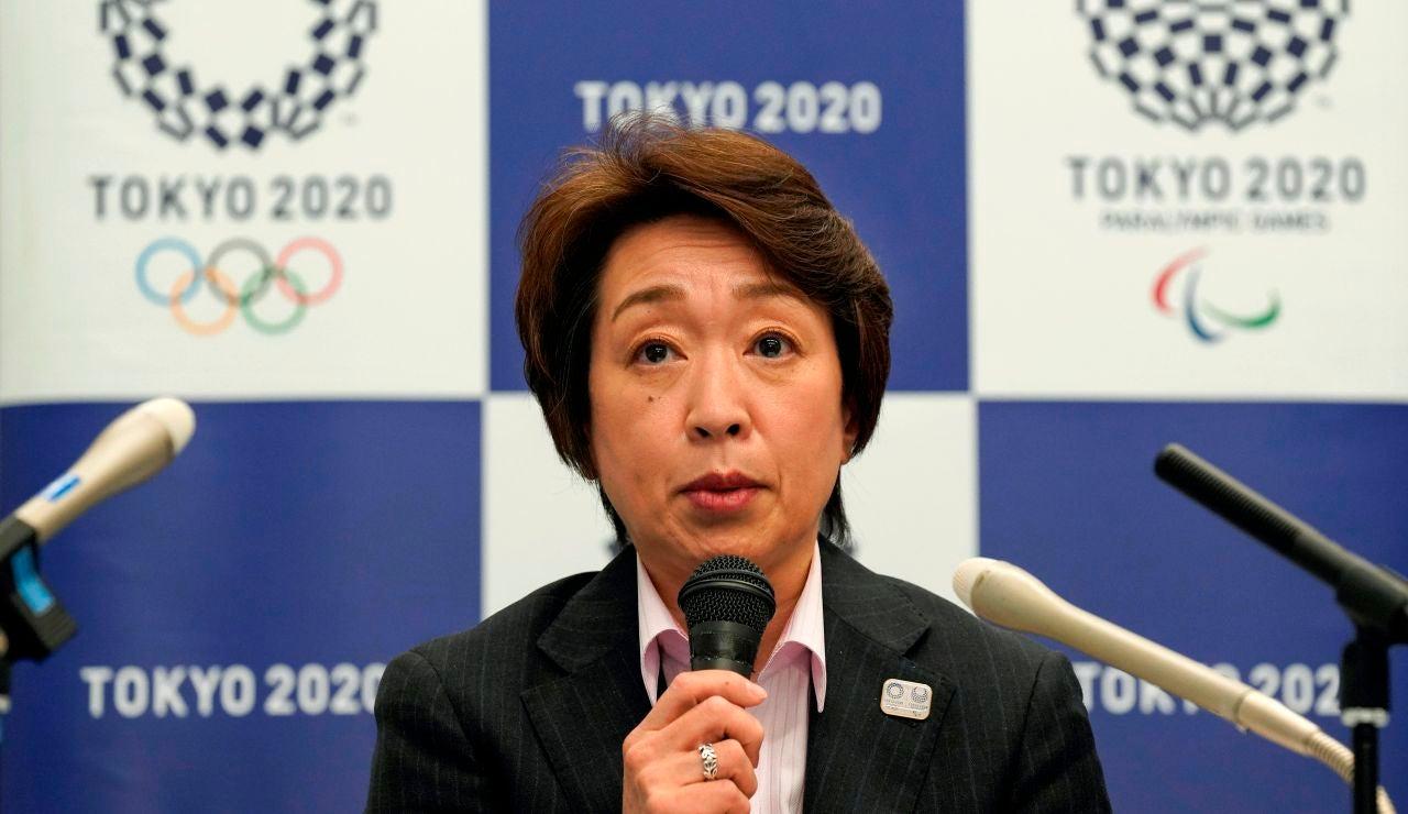 La presidenta del comité organizador de los Juegos Olímpicos y Paralímpicos de Tokio 2020, Seiko Hashimoto