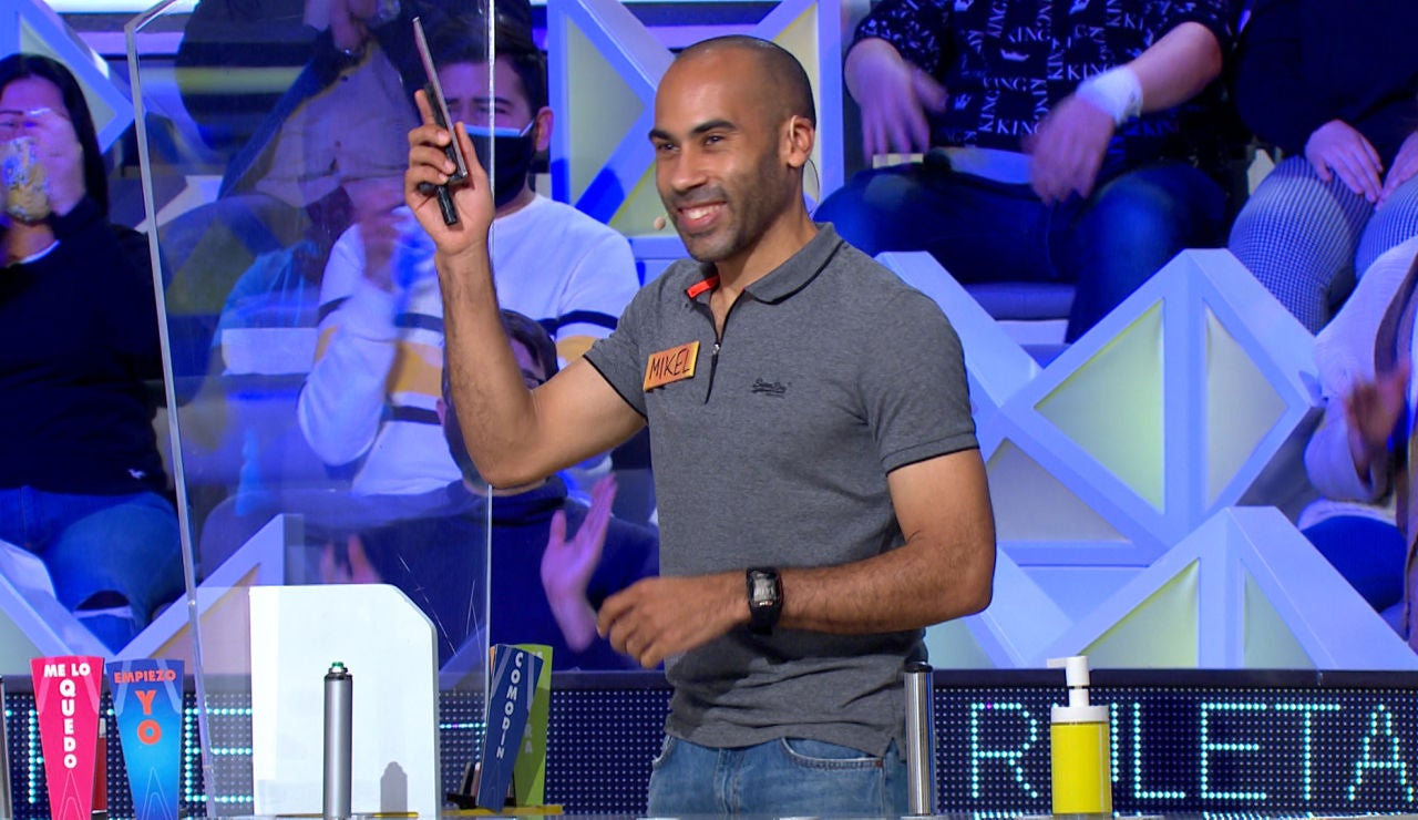 """Mikel hace caso a los consejos del público de 'La ruleta de la suerte': """"Te han engañado"""""""